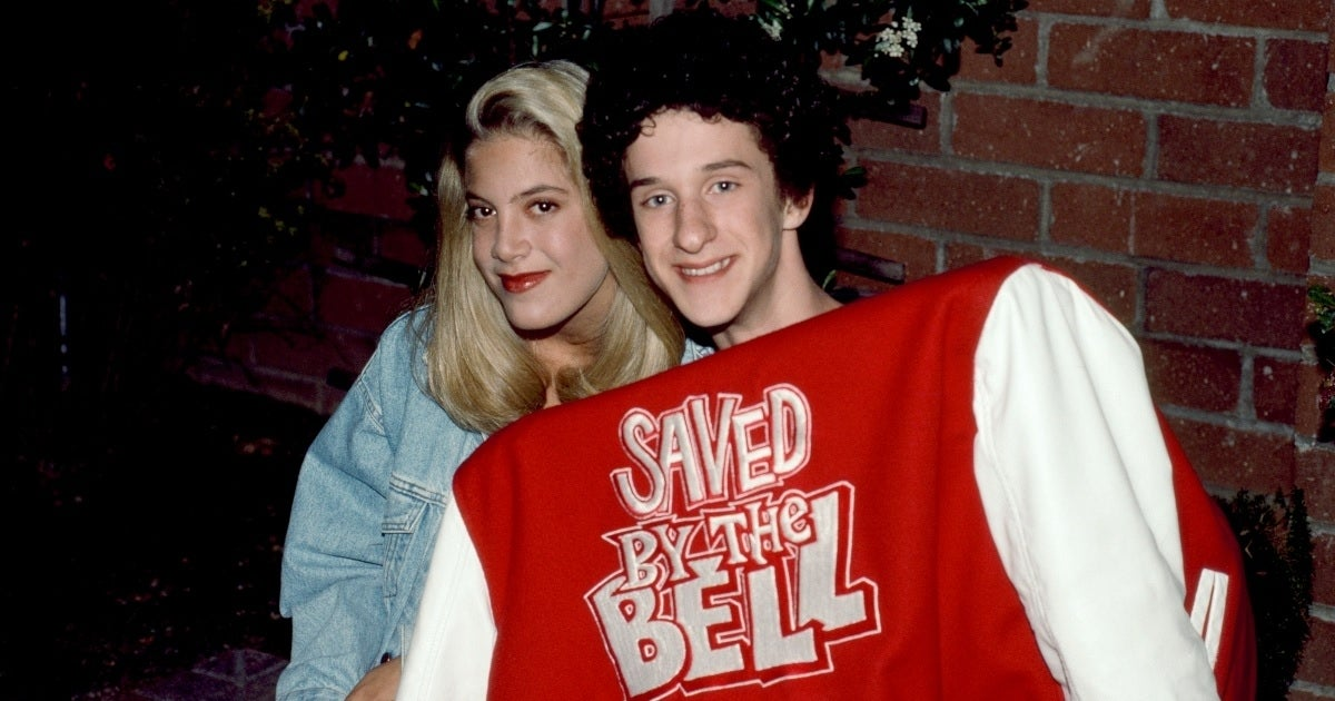 dustin diamond tori spelling getty images
