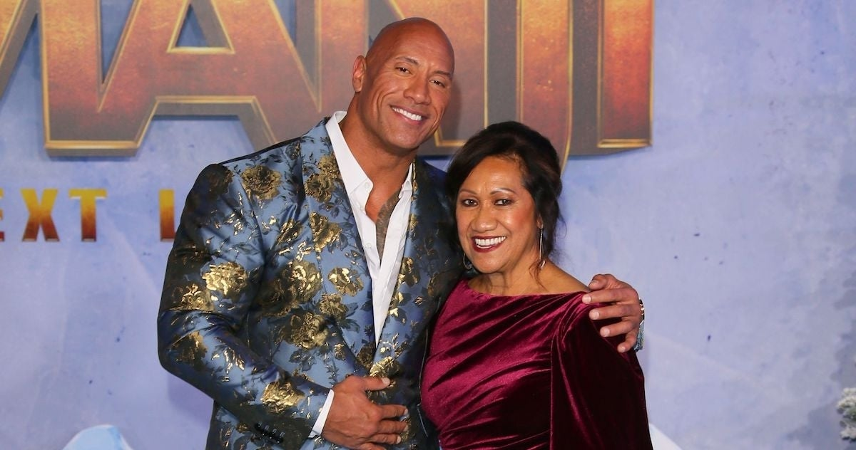 Dwayne Johnson mom Ata