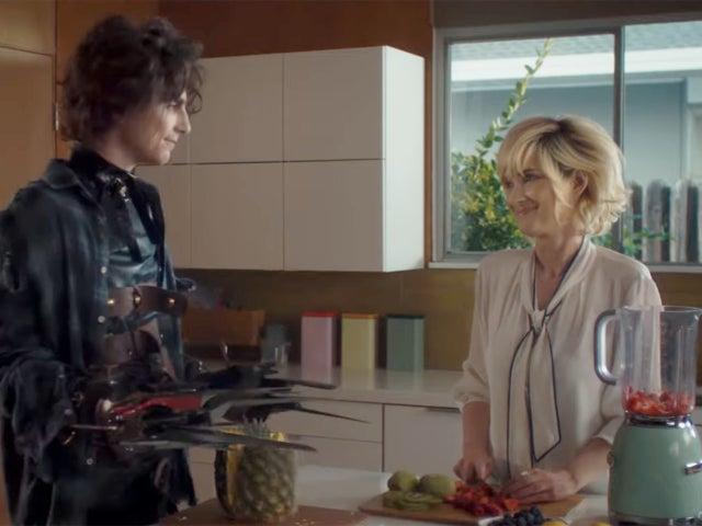 'Edward Scissorhands' Super Bowl Commercial Has Winona Ryder But No Johnny Depp