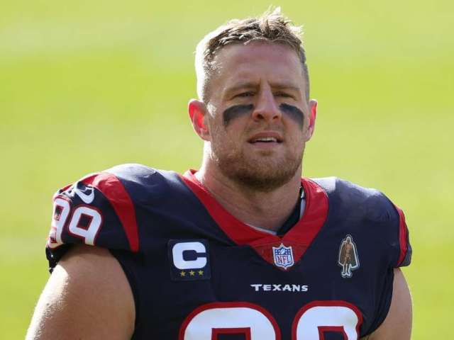 Houston Texans to Release J.J. Watt After 10 Years With Team
