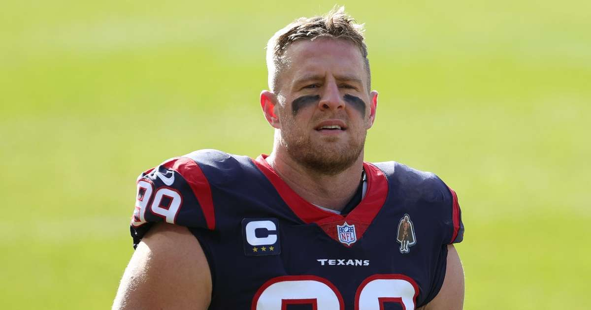 Houston Texans release JJ Watt