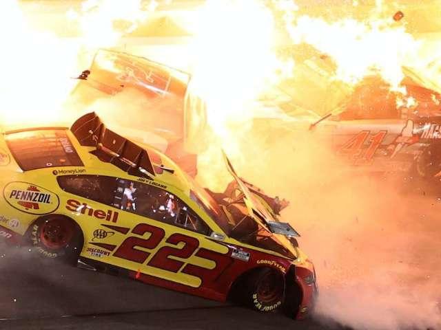 Joey Logano Speaks out After Wreck Involving Brad Keselowski During Daytona 500's Last Lap