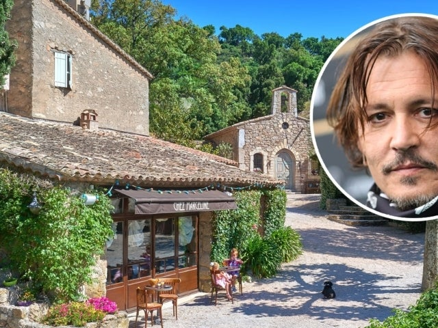 Tour Johnny Depp's $55M French Village Spanning Across 12,900 Square Feet