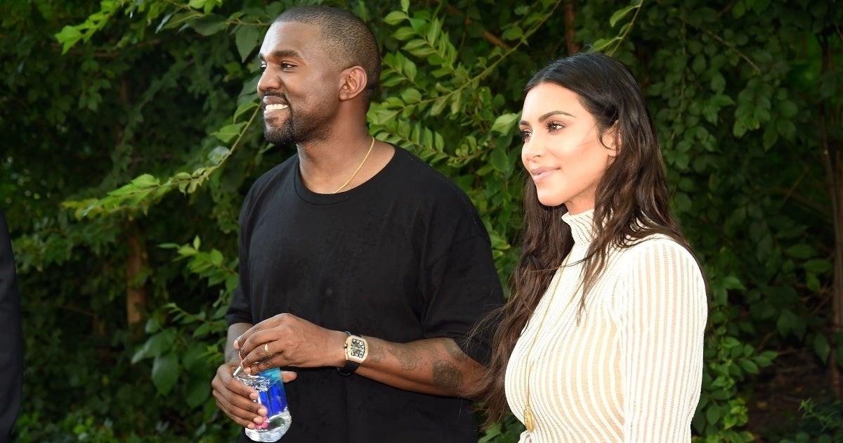 kim kardashian kanye west 2016 getty images