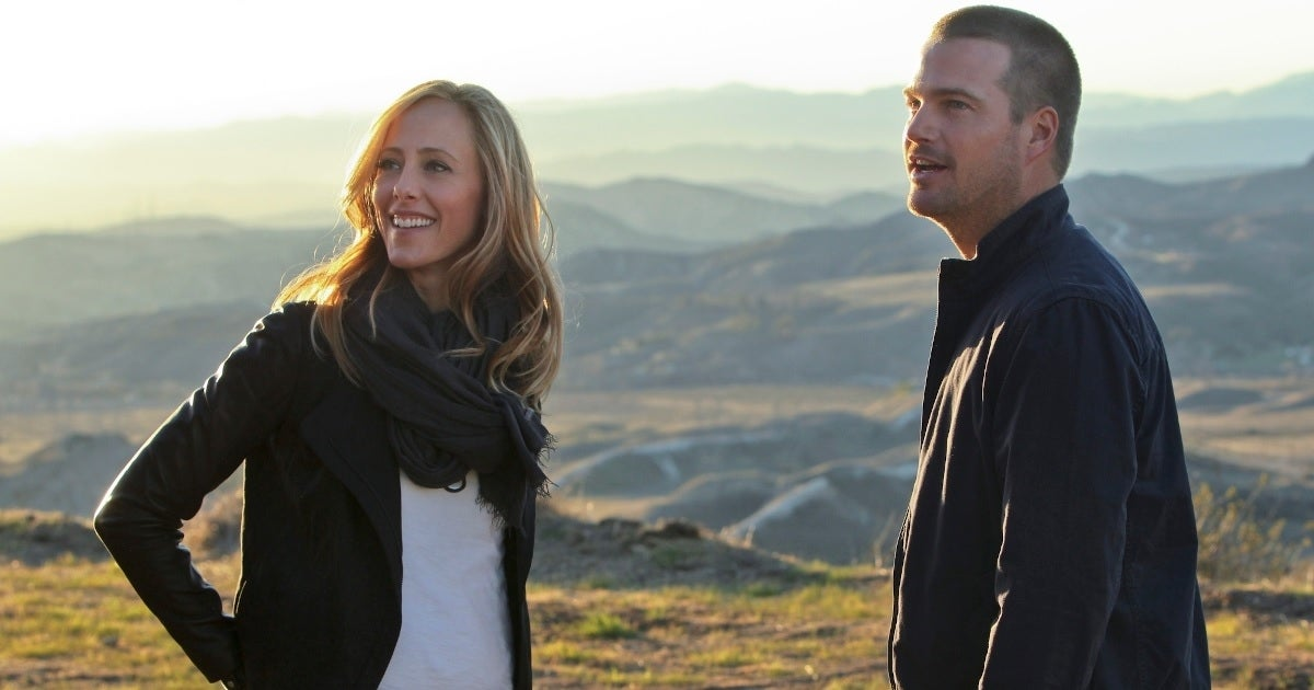 kim raver chris o'donnell ncis getty images cbs