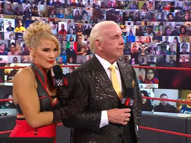 Lacey Evans Pregnant? Ric Flair Impregnates 30-Year-Old WWE Superstar in Bizarre 'Raw' Storyline