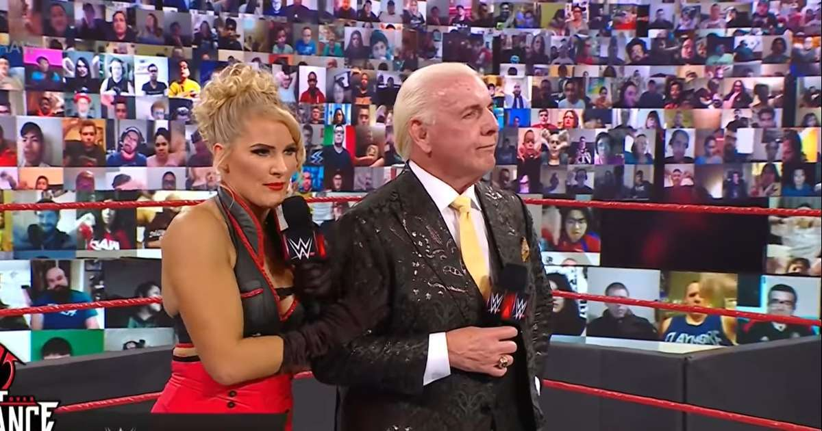 Lace Evans pregnant Ric Flair WWE