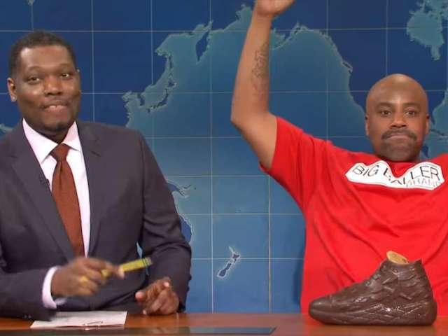'SNL': 'Weekend Update' Brings Back Kenan Thompson's LaVar Ball