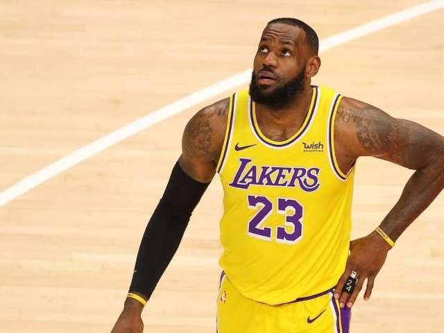 LeBron James Calls Fan 'Courtside Karen' After Being Ejected for Heckling Lakers Star