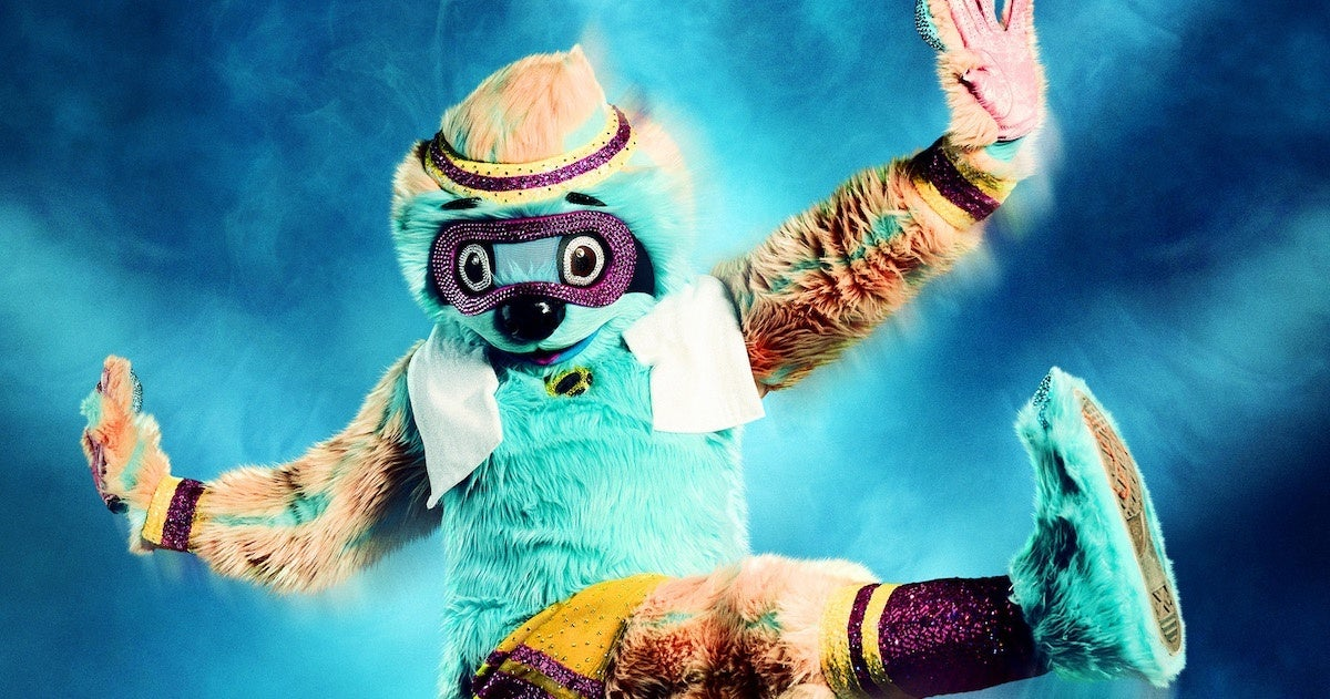 masked-dancer-sloth