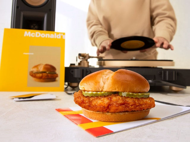 McDonald's Grants Limited Early Access to New Crispy Chicken Sandwich Before Nationwide Launch