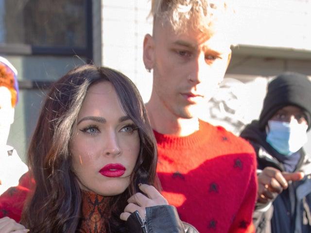Machine Gun Kelly Reveals He Wears Megan Fox's Blood on His Neck in 'Bloody Valentine' Post