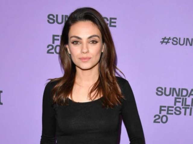 Mila Kunis Wears Gym Shorts During Virtual 'Ellen' Appearance
