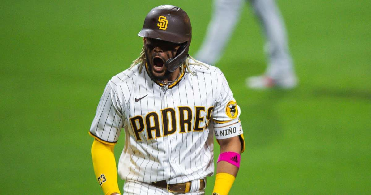 Padres Fernando Tatis Jr cover athlete MLB the show 21