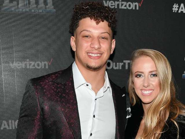 Patrick Mahomes and Fiancee Brittany Matthews Pose for Regal Maternity Photos