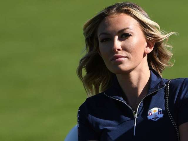 Paulina Gretzky Enjoys Afternoon Tea and Beachside Views in New Photo