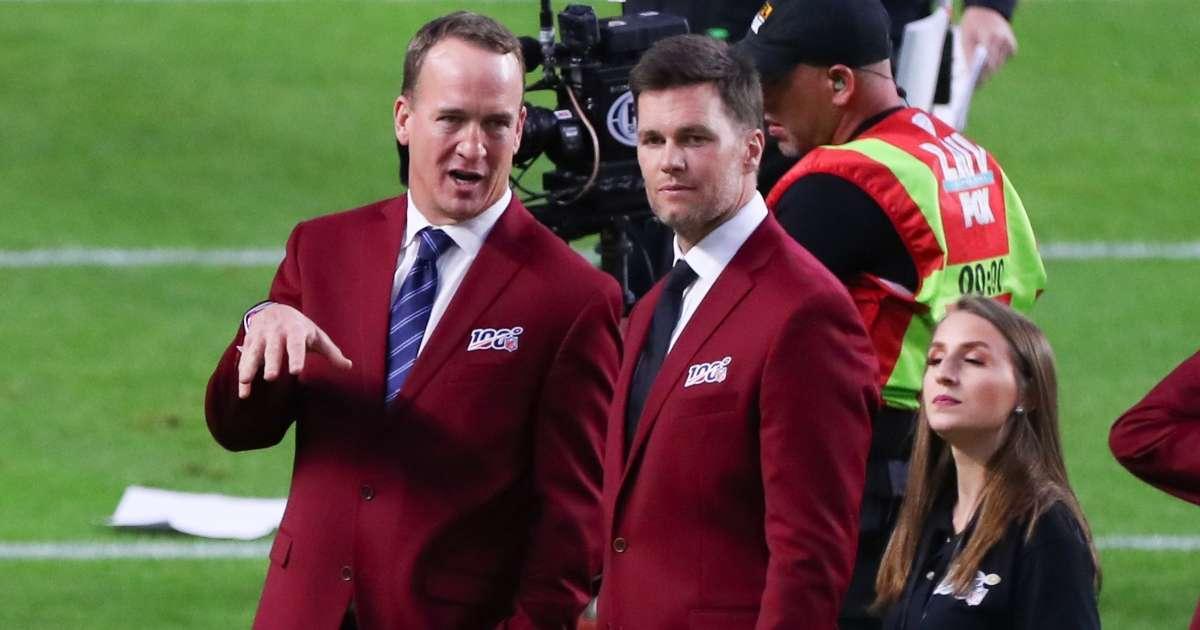 Peyton Manning NFL GOAT over Tom Brady, study (1)
