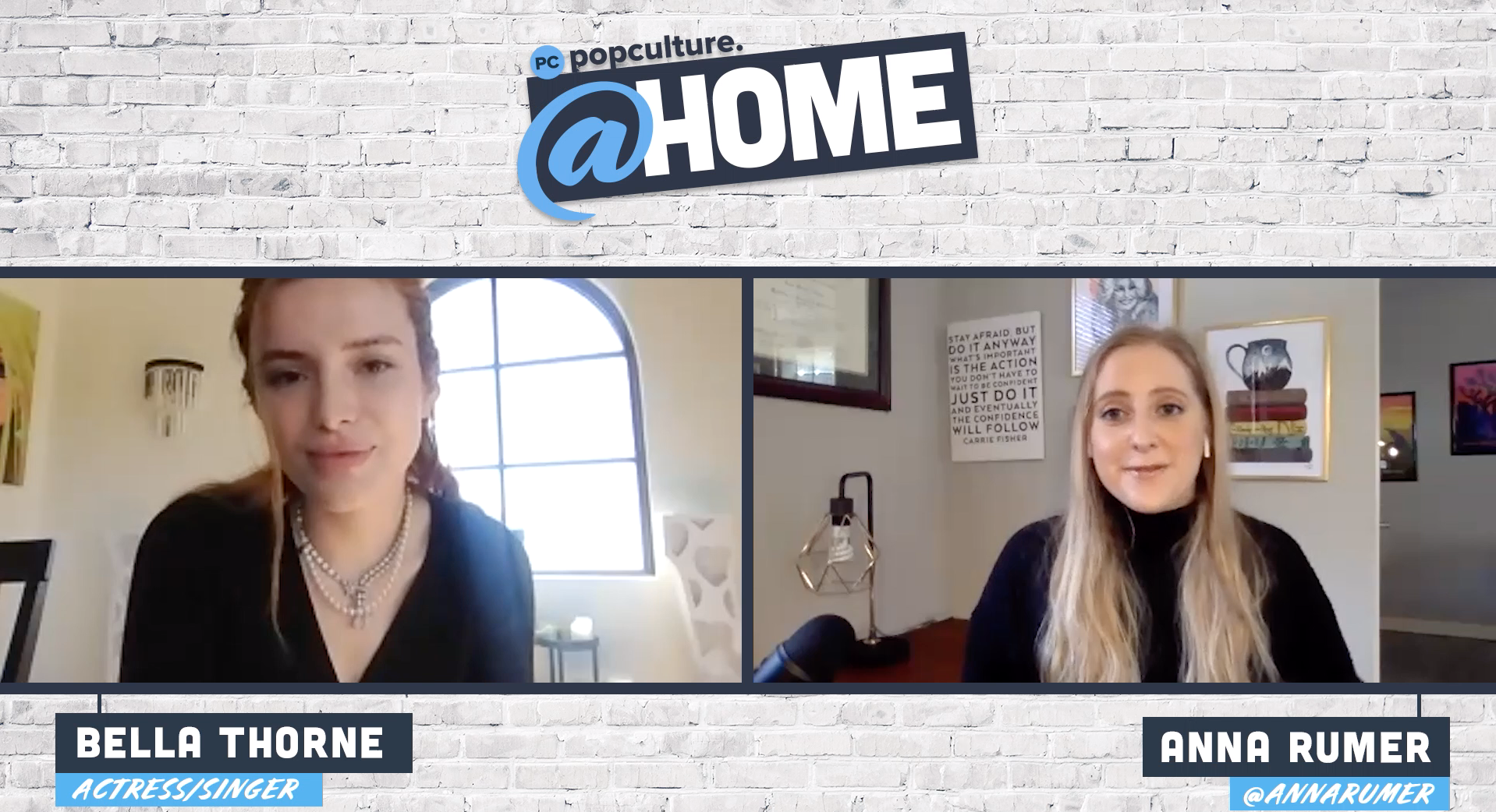 Popculture @Home Exclusive Interview with Bella Thorne