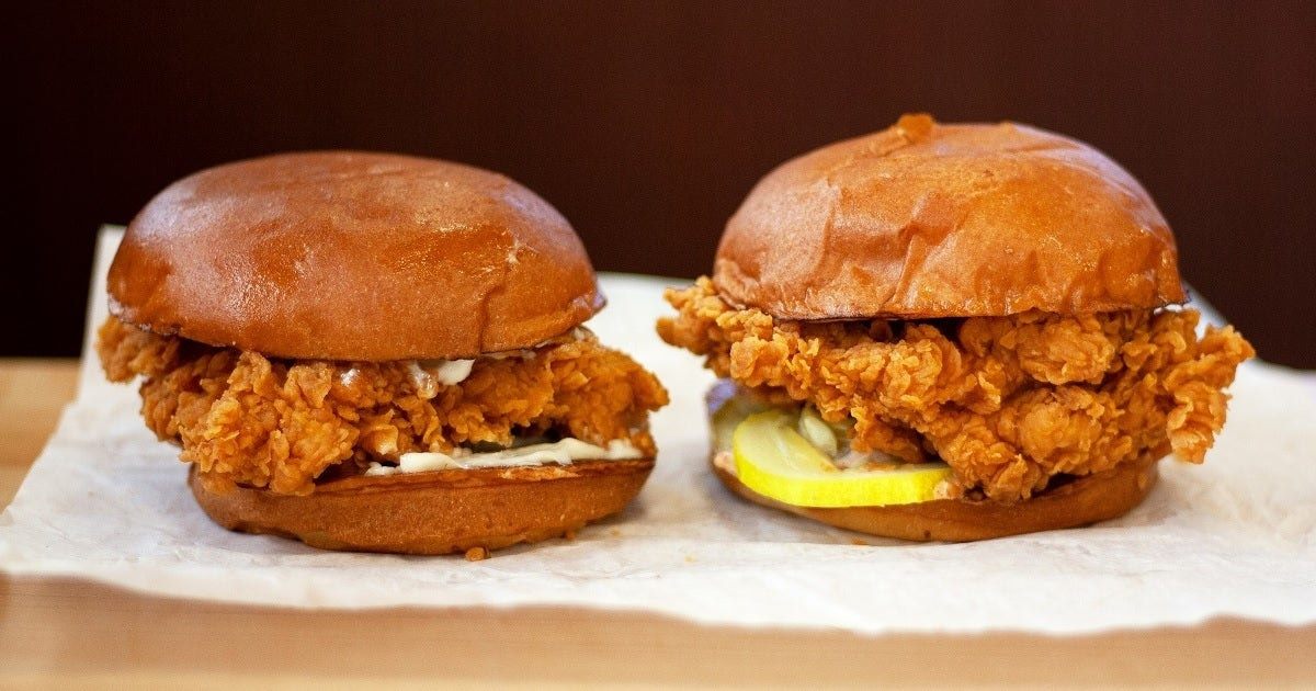 popeyes chicken sandwich getty images