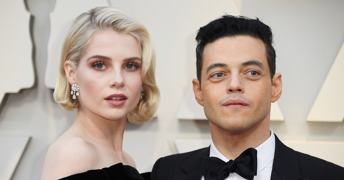 rami-malek-lucy-boynton-getty