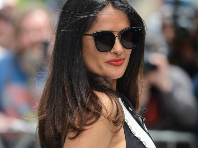 Salma Hayek Reveals Chest Tattoos for Bold New Look for Movie