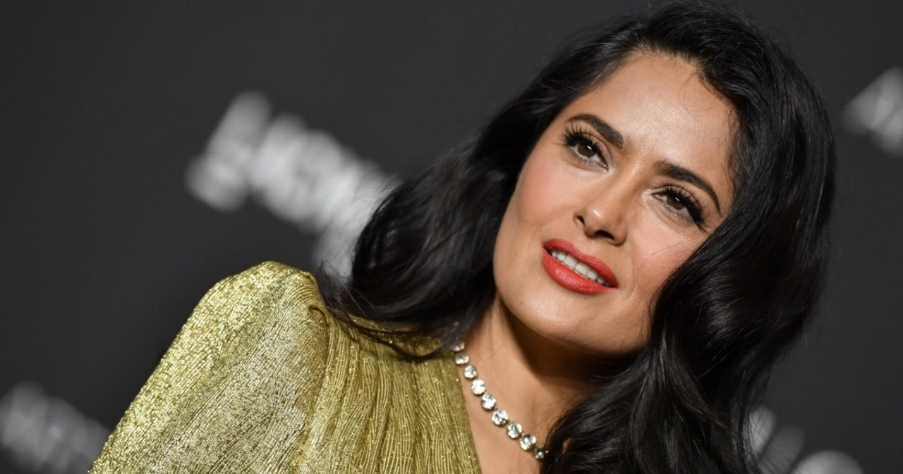 Salma Hayek Shows off Chest Tattoos for New Movie 'Bliss' - PopCulture.com