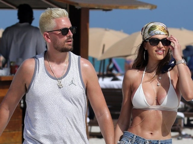 Amelia Gray Hamlin Flaunts Curves in Pink Bikini While Vacationing With Scott Disick