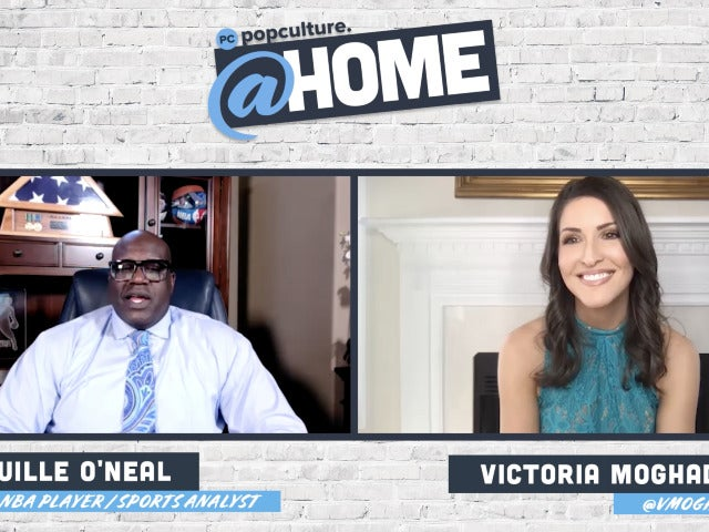 Shaquille O'Neal - PopCulture@Home Exclusive Interview