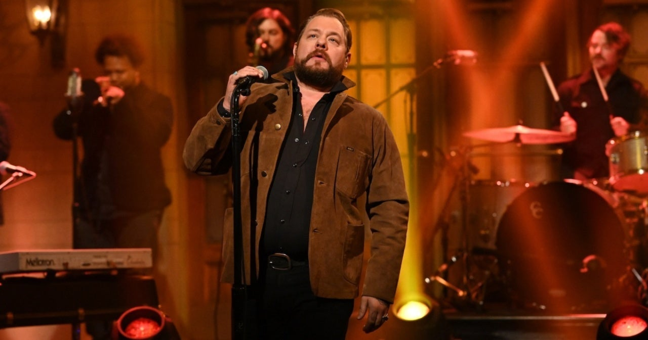 'SNL': Nathaniel Rateliff Gave Stirring Performance of 'Redemption' Last Night - PopCulture.com