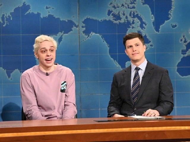 'SNL': Pete Davidson References Scarlett Johansson and Colin Jost's Wedding in Valentine's Day Bit