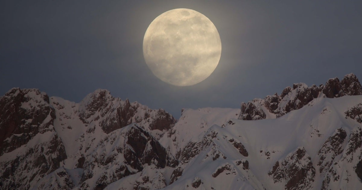 snow moon getty images