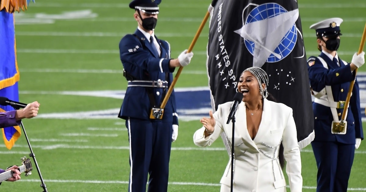 space force flag super bowl getty images