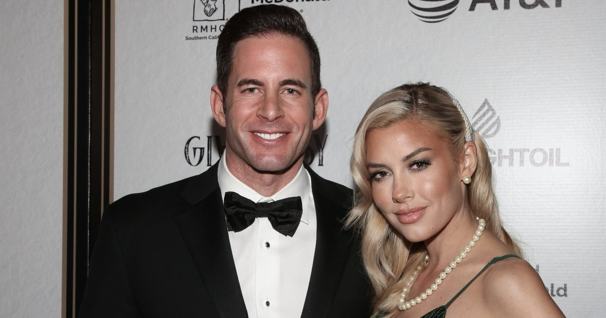 tarek el moussa heather rae young getty images