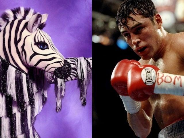 'The Masked Dancer': Is Oscar De La Hoya the Zebra?