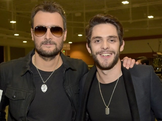 Thomas Rhett Calls Eric Church His 'Favorite Country Artist of All Time'
