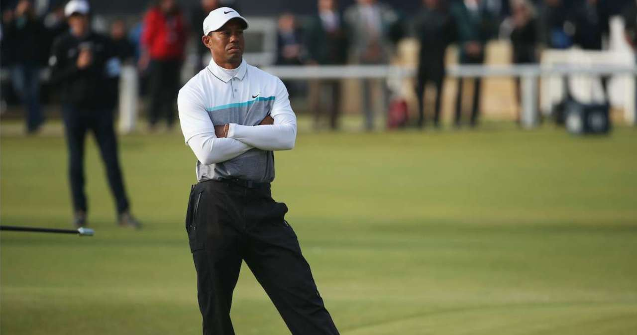Tiger Woods Accident: St. Andrews Sand Tribute Sends 'Thoughts and Prayers' Golfer's Way.jpg