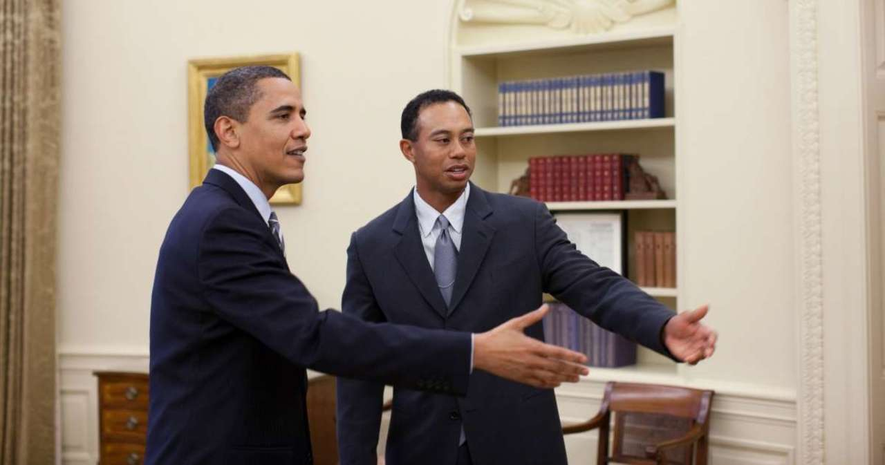 Tiger Woods Accident: Barack Obama Says 'Never Count Tiger out' After Car Crash.jpg