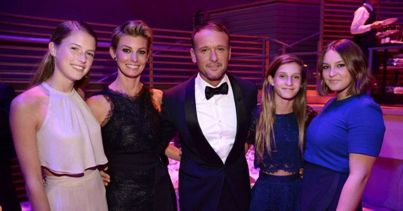 Tim McGraw Honors Wife Faith Hill and 3 Daughters for International Women's Day