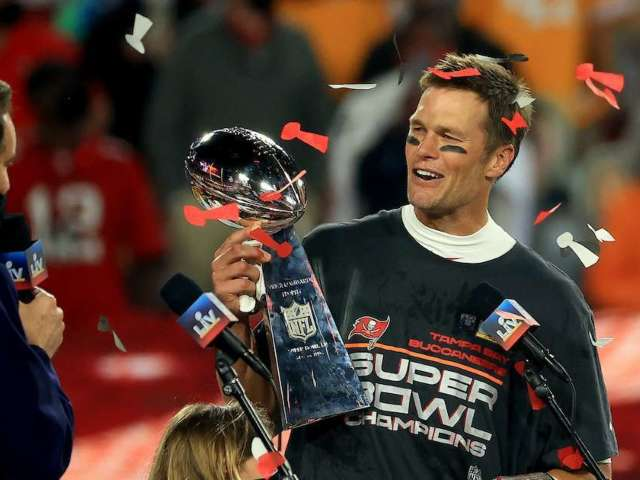 Tom Brady Attends Buccaneers' Super Bowl Parade in New $2 Million Boat