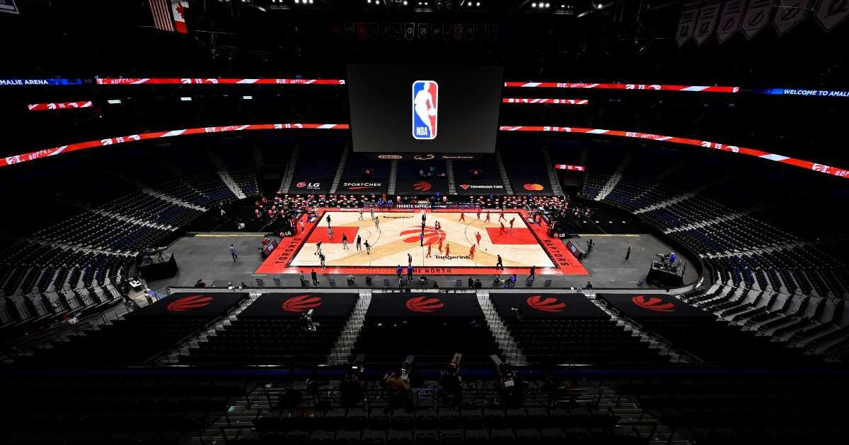 Toronto Raptors finish season Tampa COVID-19 restrictions