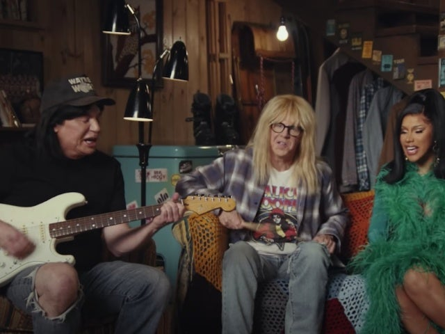 'Wayne's World' Super Bowl Commercial: Mike Myers, Dana Carvey Jam With Cardi B for Uber Eats