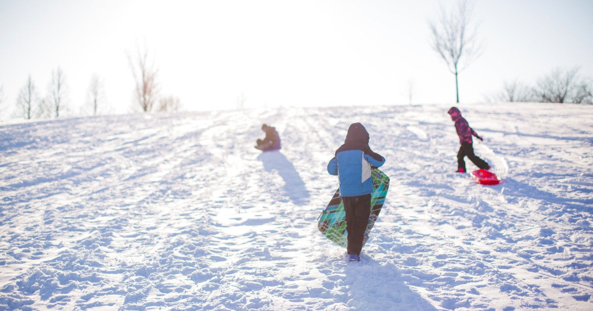 winter-snow-sledding