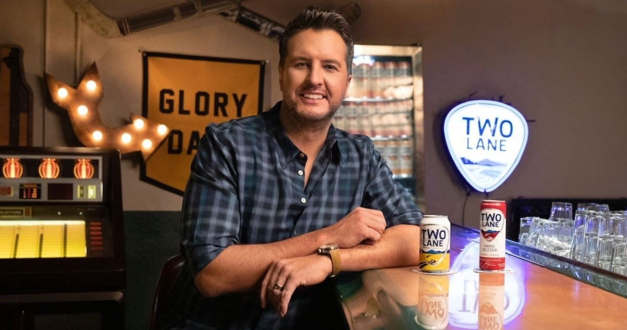 Luke Bryan Relaunches Two Lane Lager and Introduces New Line of Hard Seltzers.jpg
