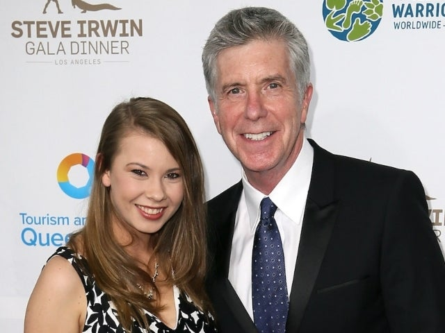 Tom Bergeron Sends Sweet Message to 'DWTS' Champion Bindi Irwin After She Welcomes Baby Daughter