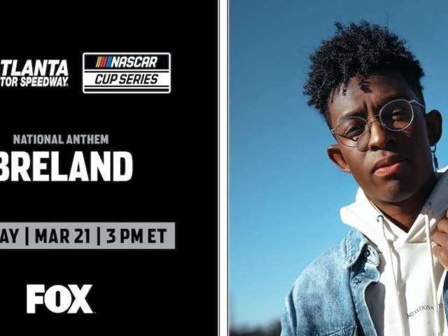NASCAR: Platinum-Selling Artist to Sing National Anthem at Sunday's Race