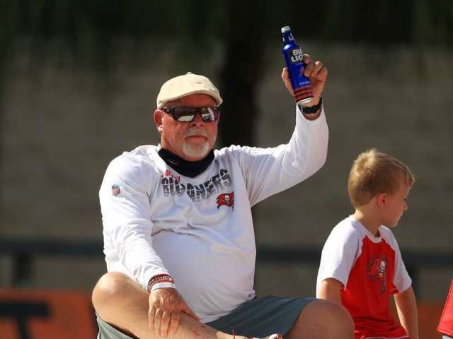 Buccaneers Coach Bruce Arians Shows off New Tattoo After Winning Super Bowl