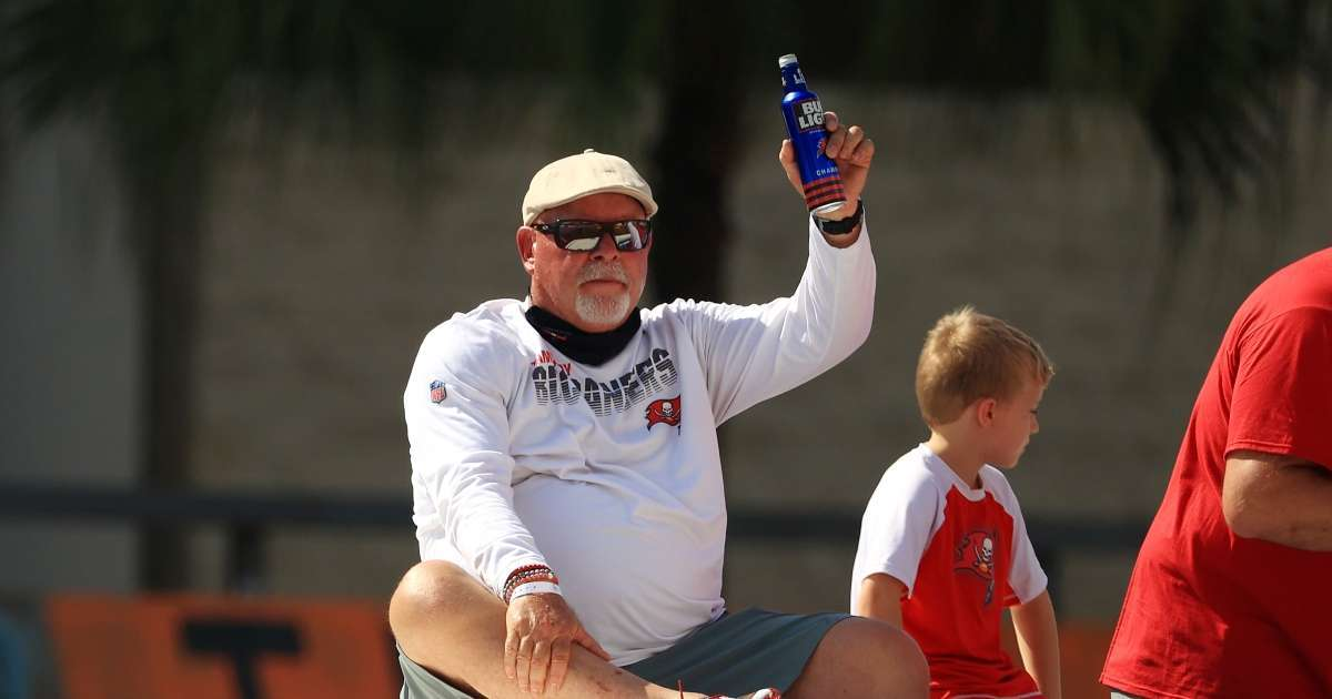 Bruce Arians shows off new tattoo after winning Super Bowl