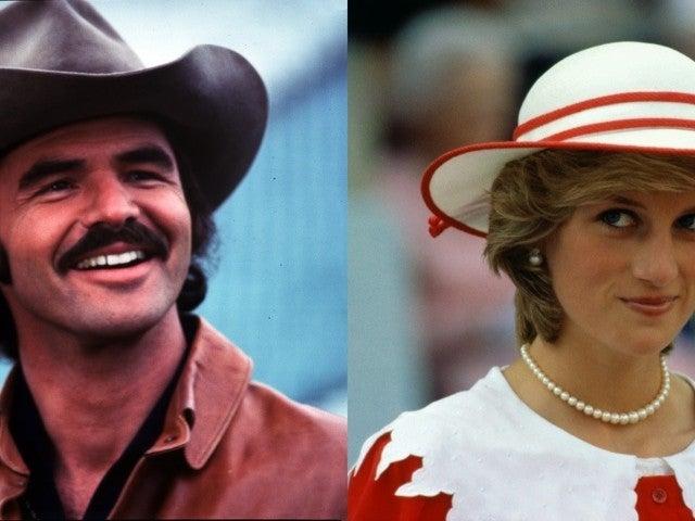 Burt Reynolds and Princess Diana Rumor Verified Nearly 3 Decades Later