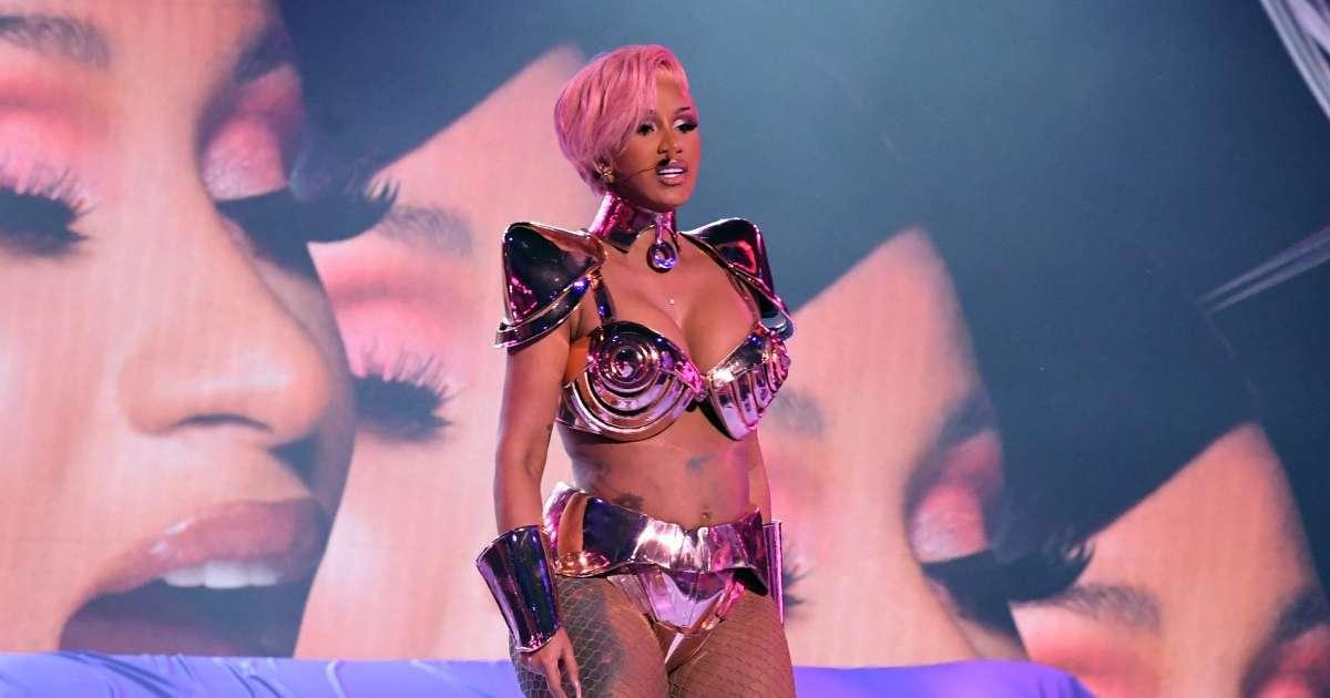Cardi B Megan Thee Stallion Grammy Performance WAP viewers jaws dropped