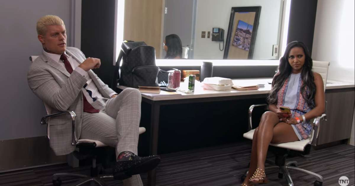 Cody Rhodes wife Brandi reality show